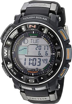 Die Casio Pro Trek Outdoor-uhr