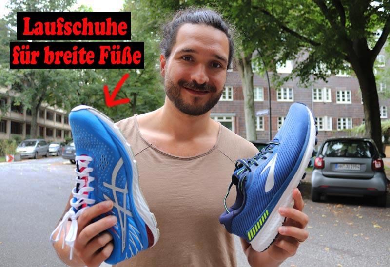 Laufschuhe für breite Füße im Test