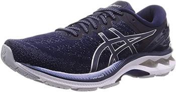 Der Asics Gel kayano Laufschuh bietet hohen Komfort bei Knieproblemen.