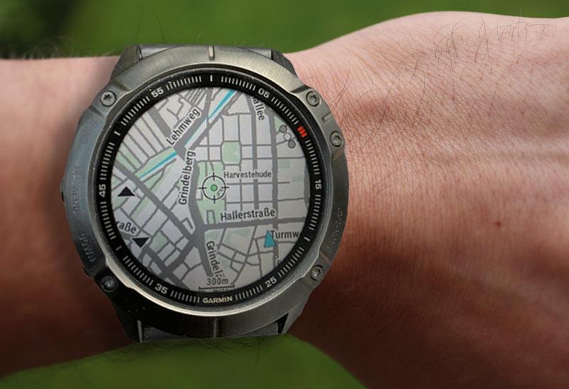 GPS-Uhr mit Kartendarstellung im Test und Vergleich