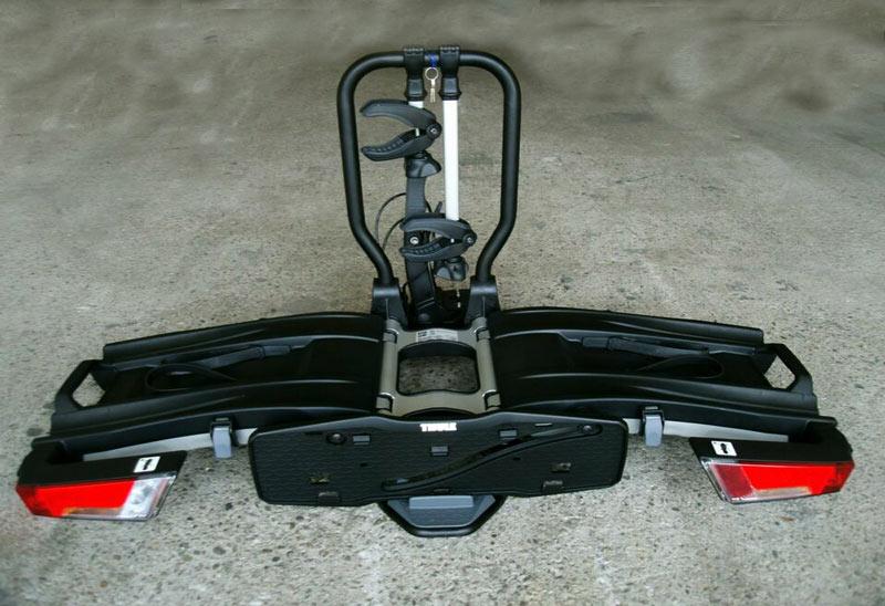 Der Thule Easyfold XT 2 fahrradanhänger im Test