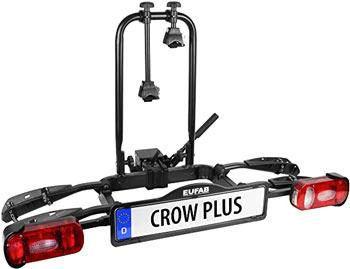 Eufab Crow Plus Fahrradanhänger für Auto