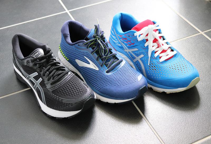 Laufschuhe für schwere Läufer im Test
