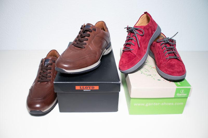 Schuhe für breite Füße im Test