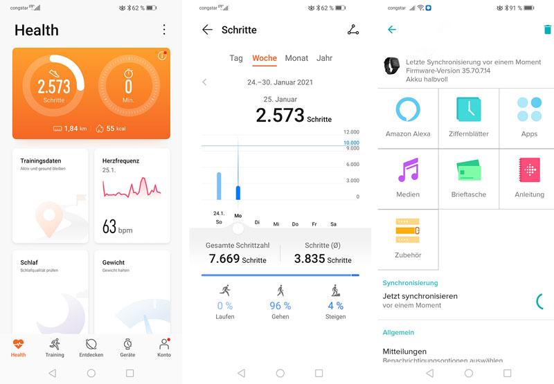 Fitness Tracker können viele Vorteile haben