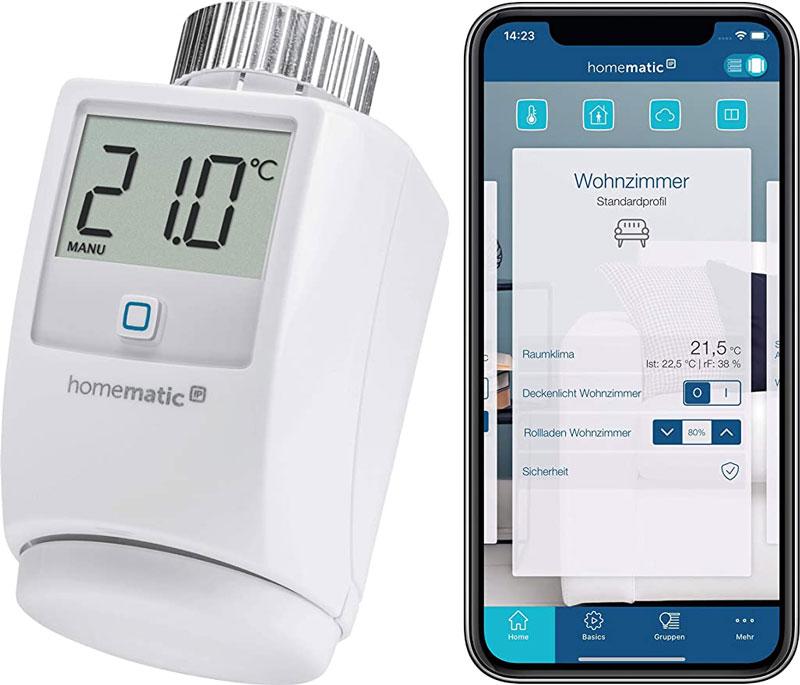 Die smarte Heizungssteuerung von Homematic IP