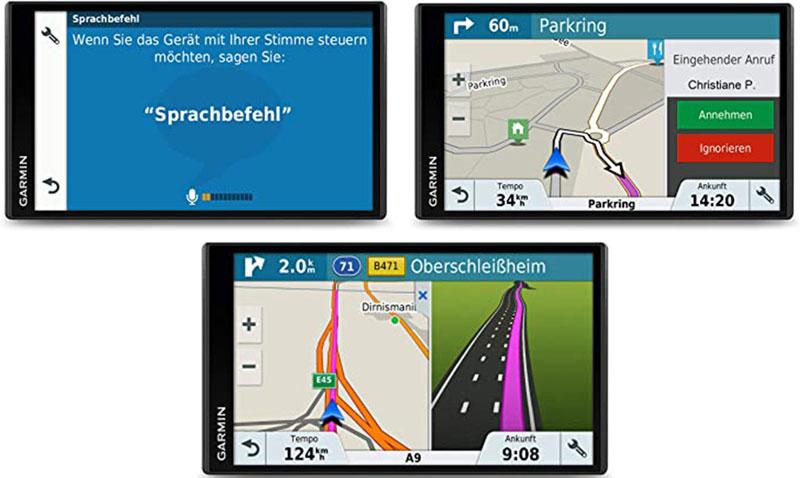 Garmin Drivesmart 61 Navigationsgerät für Auto