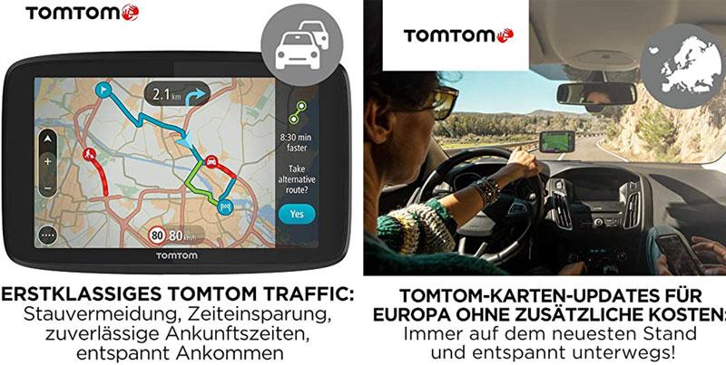 Tomtom Essential hat viele Funktionen zu einem günstigen Preis