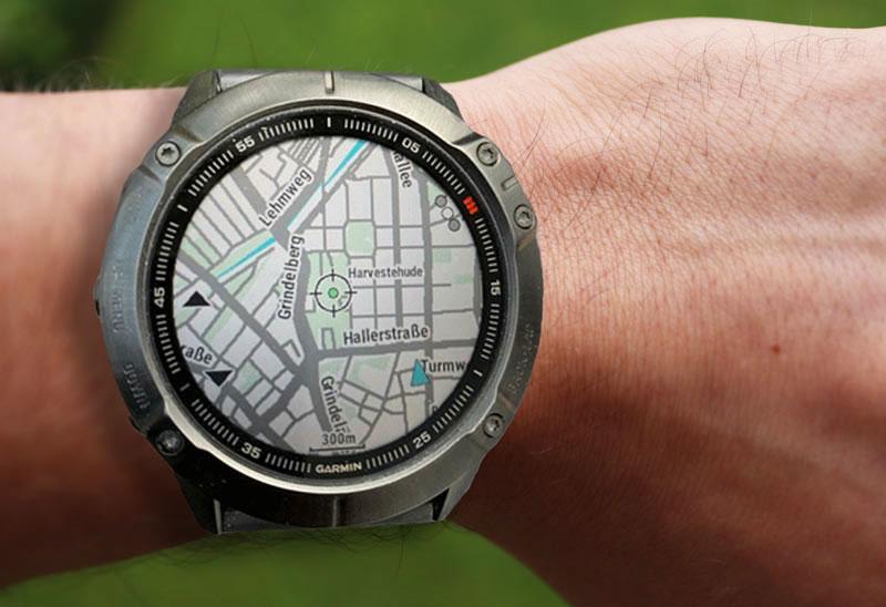 GPS-Uhr alternative statt eines Fahrrad Navis